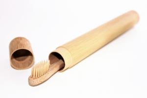 Reiseetui Bambus Zahnbürste