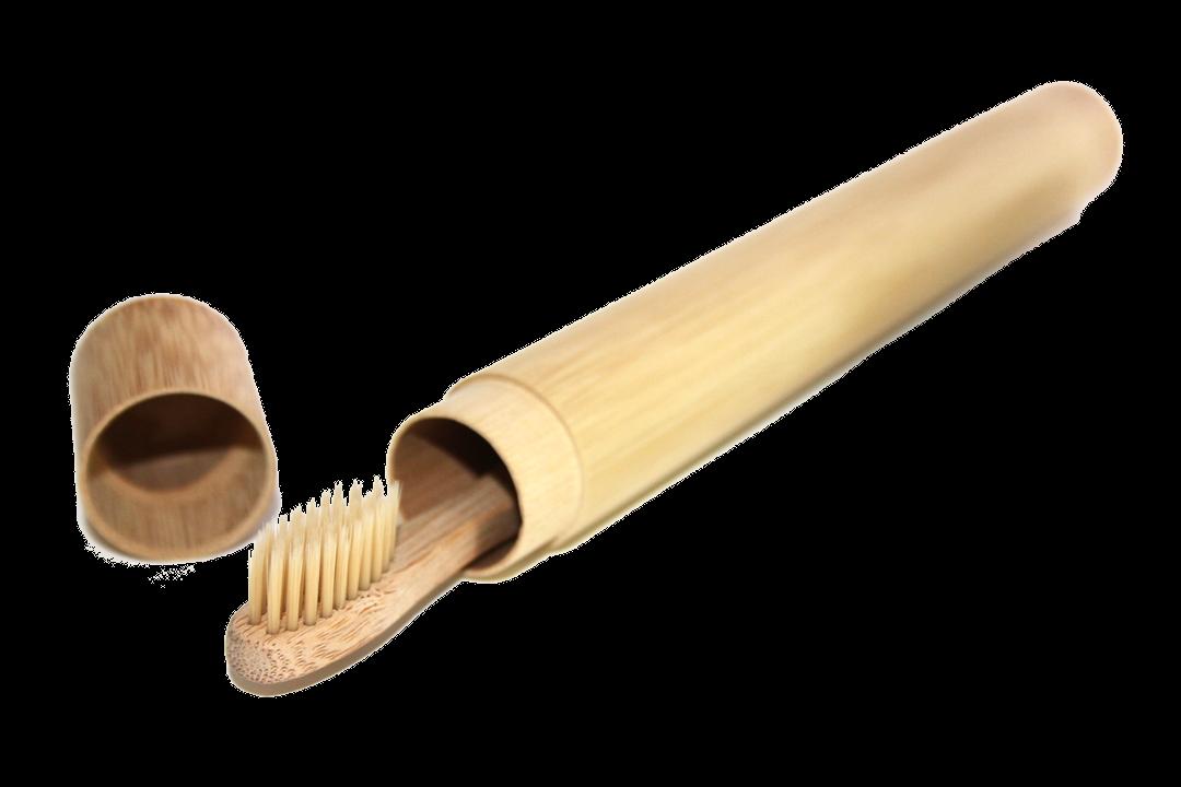 baumfrei Reiseetui Bambus Zahnbürste