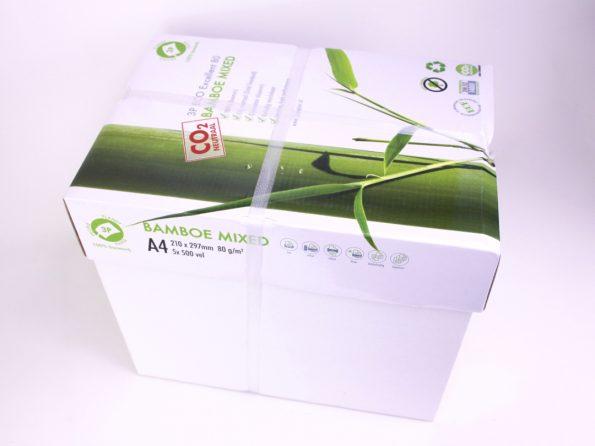 baumfrei Bambus Papier Karton