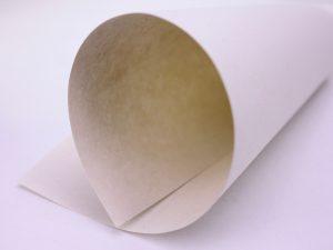 Hanfpapier zusammengerollt baumfrei