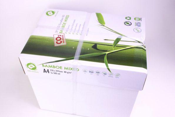 Großer Karton Bambuspapier