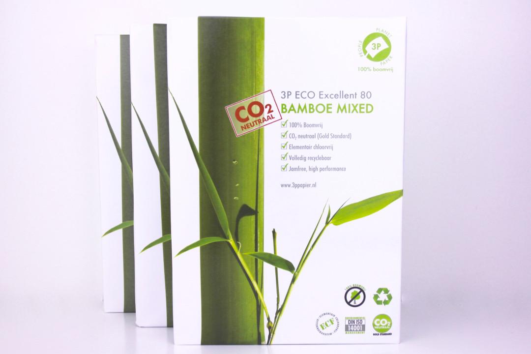 Drei mal 500 Blatt Bambuspapier