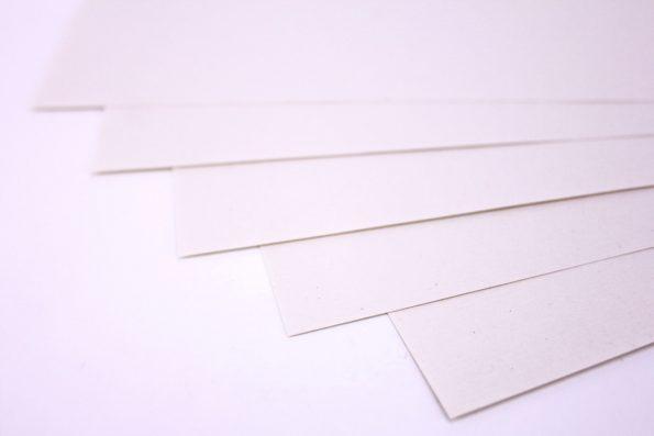 5 Einzelne Blätter Hanfpapier