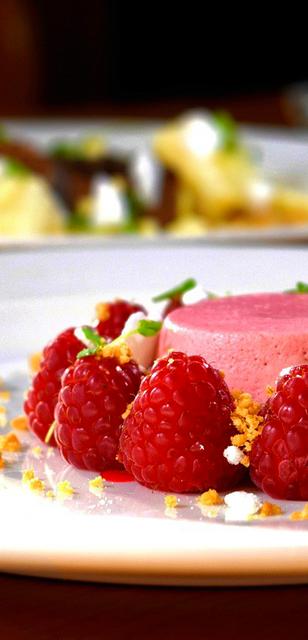 Pudding rosa baumfrei