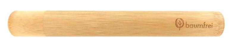 Etui für die Zahnbürste aus Bambus von baumfrei