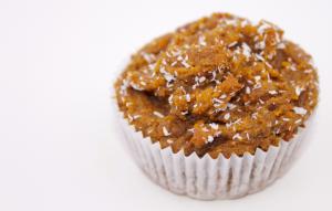Muffin vegan mit Kokos und Orange baumfrei