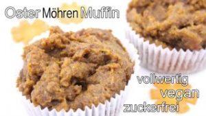möhrenmuffin zu Ostern baumfrei