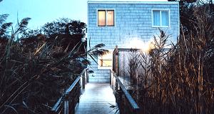 Bambus Sichtschutz - baumfrei.de - Wohnhaus