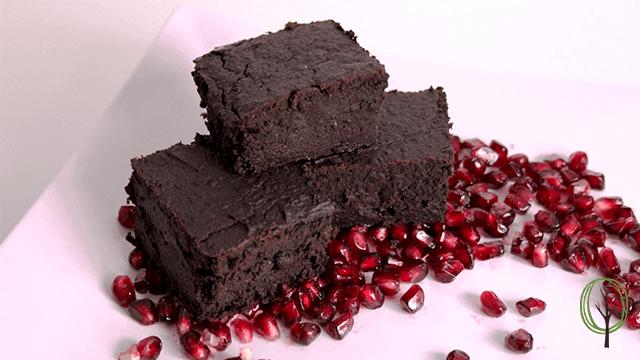 Brownies ohne Zucker - baumfrei.de - Beitragsbild