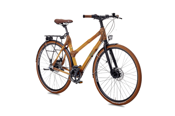 Bambus Fahrrad Vollausstattung myboo baumfrei