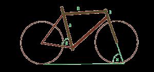 Größe Bambus Fahrrad baumfrei myboo