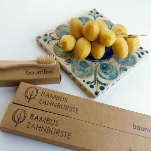Rätsel baumfrei Bambus Zahnbürsten zu gewinnen