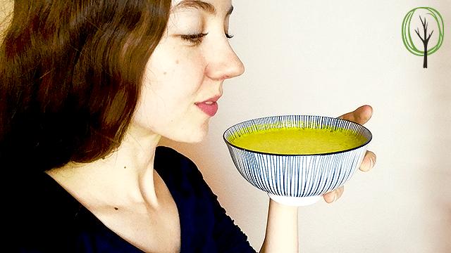 Goldene Milch Rezept - Getränk zum Einschlafen - baumfrei.de - Pia Brouwers - BB