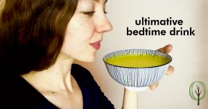 Goldene Milch Rezept - Getränk zum Einschlafen - baumfrei.de - Pia Brouwers - FB
