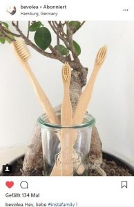 #Bambuszahnbürste - baumfrei.de - Pia Brouwers - Instagram bevolea