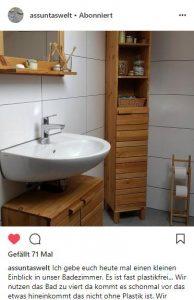 #Bambuszahnbürste - baumfrei.de - Pia Brouwers - Instagram assuntaswelt