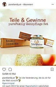 #Bambuszahnbürste - baumfrei.de - Pia Brouwers - Instagram purefamiliy.at