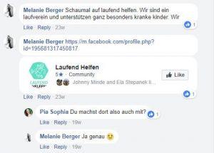 Spendenmöglichkeiten - baumfrei.de - Pia Brouwers - AB Laufend Helfen