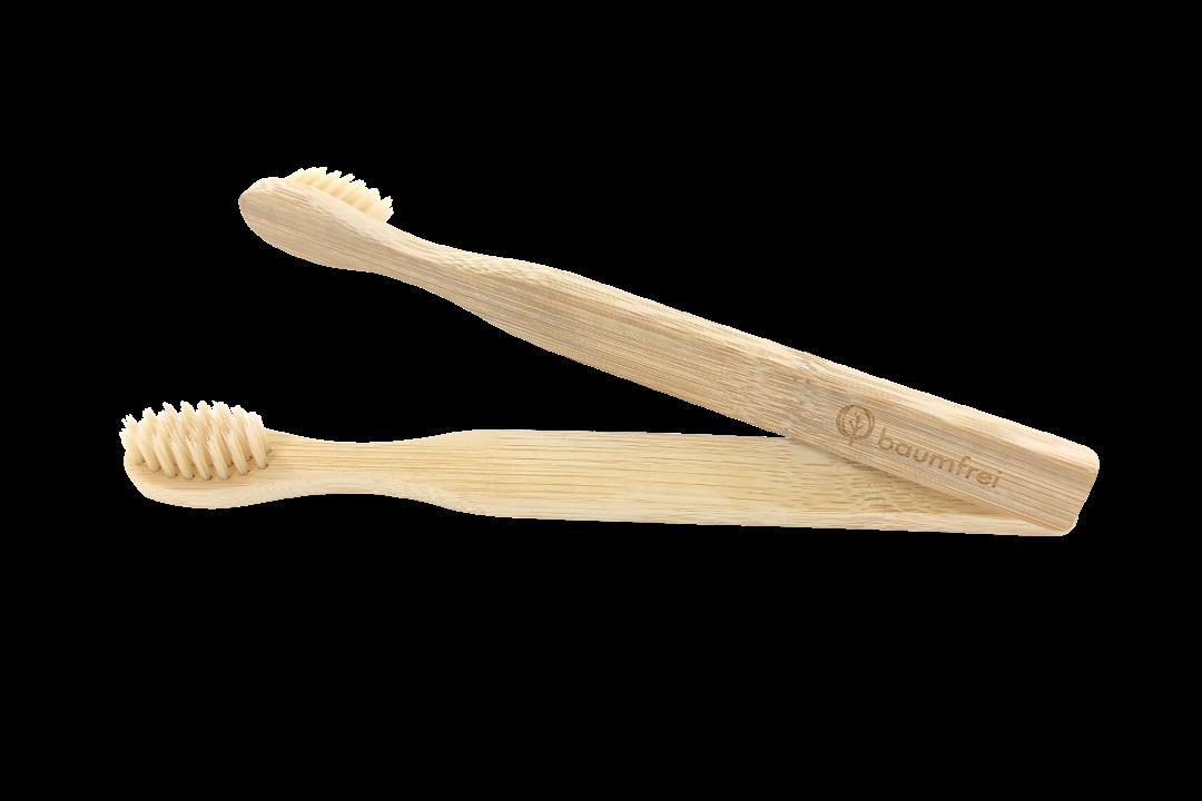 Bambus Zahnbürste für Kinder - baumfrei