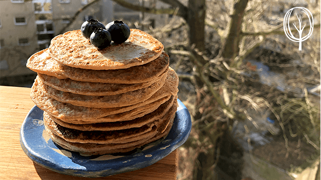 vegane Pfannkuchen ohne Öl - baumfrei.de - Pia Brouwers - BB
