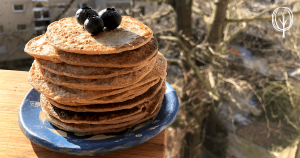 vegane Pfannkuchen ohne Öl - baumfrei.de - Pia Brouwers - FB