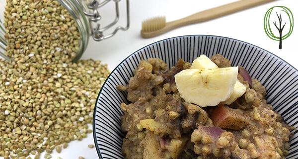 Buchweizen Porridge Rezept - Pia Brouwers - baumfrei,de - AB1