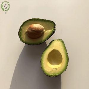 baumfrei reife Avocado aufgeschnitten