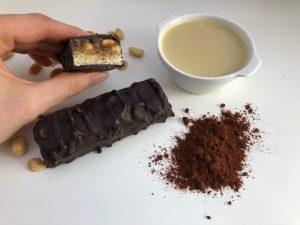Vegane Snickers DIY - baumfrei